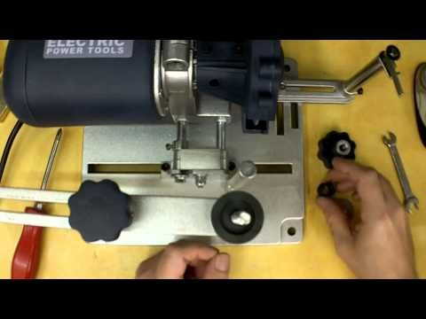 Harbor Freight Circular Saw Blade Sharpener Review and Modifications. Item 96687 - YouTube