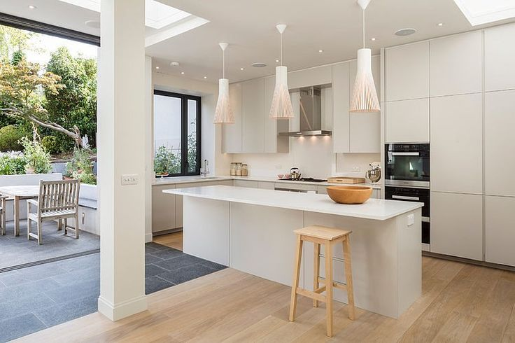 Like layout ...kitchen to outside