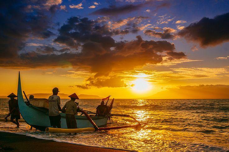 Fishermen, Boom Beach, Banyuwangi