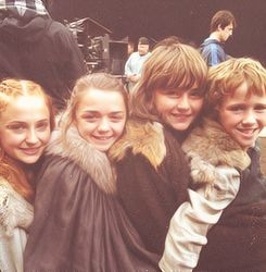 Got Season one, the younger Starks