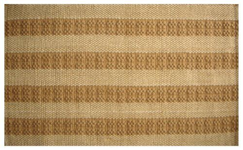 Imports Decor Two-tone Natural Stripes Jute Door Mat, 36-Inch by 24-Inch by Imports Décor. $41.79. 100-percent jute mat. Hand woven in a two-tone striped pattern. Measures 36-inch by 24-inch. Durable, long-lasting and highly sustainable. Welcome your guests with this attractive natural two-tone jute door mat from Imports Decor . Hand woven in a classic stripes pattern and constructed of 100-percent jute fiber. Jute fiber is harvested from the stem and outer skin of the jute pl...