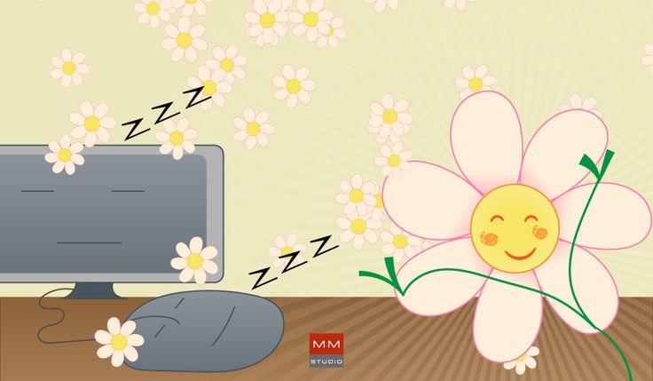 Primo giorno di Primavera! #primavera #spring #illustrazioni #illustration #illustrator #draw #disegno #margherita #daisy