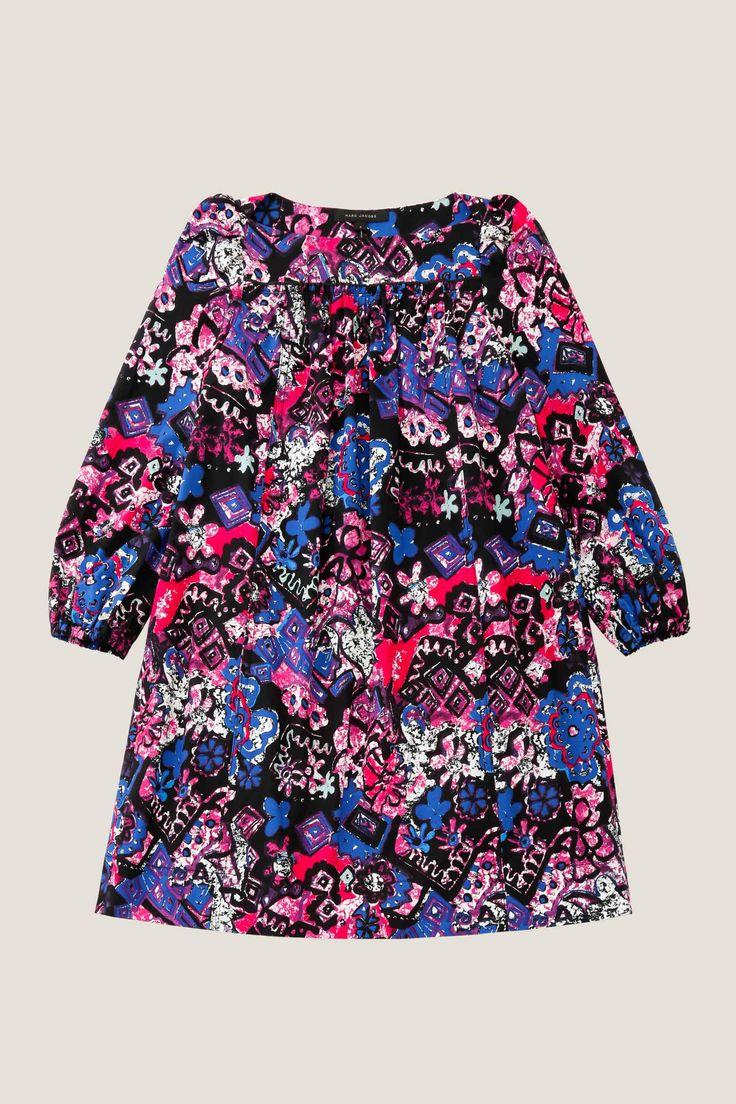 MARC JACOBS Daisy Print Babydoll Dress. #marcjacobs #cloth #