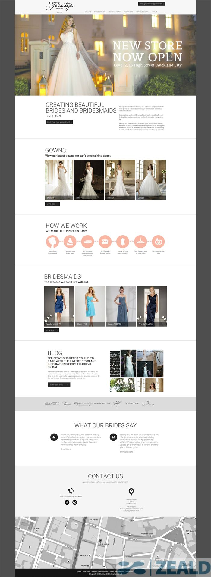 Felicitys Bridal  - The art and science of good #websitedesign #website #websiteredesign #webdesign #designinsperation #rethinkyourwebsite #layout #redesign #redesignideas #redesigninspiration #creative #landingpages #beforeafter #responsive #leadgeneration #ecommerce