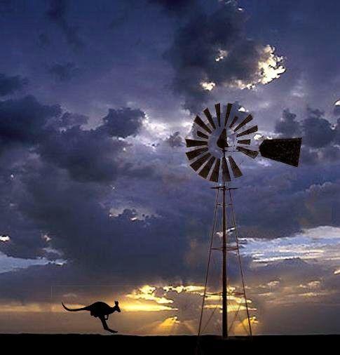 Australian outback;