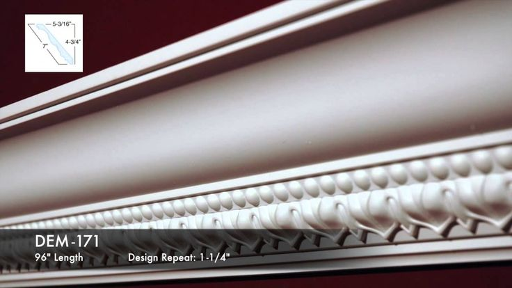 Decorative Cornices Series 7. Find more at: http://www.outwater.com/lg_display.cfm/page/T-10/catalog/2016_Master_Catalog