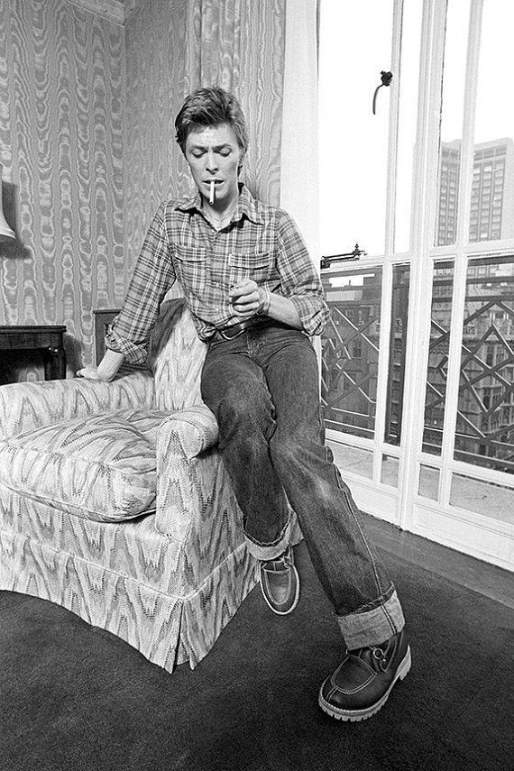 David Bowie London 1977 Photo By Barry Plummer David Bowie Bowie Starman Bowie