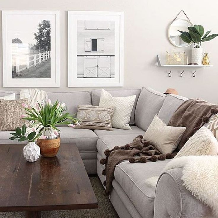 Earth Tones Create A Space That Feels Warm And Serene Pinterest Contributor Living Room
