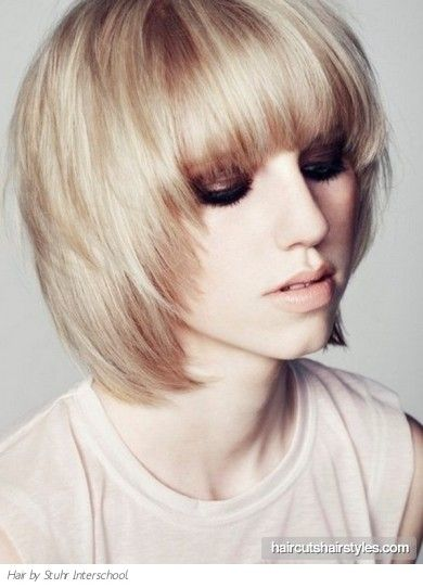 Magnificent 1000 Ideas About Medium Layered Bobs On Pinterest Bob With Hairstyle Inspiration Daily Dogsangcom
