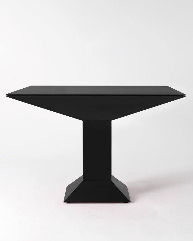Ettore Sottsass 'Mettsass' table: A Furniture, Groovi Furniture, Tables Design, Simple Tables, Big Tables, Originals Tables, Tables Mark, Accent Furniture, Mesass Relaunch 1B Jpg