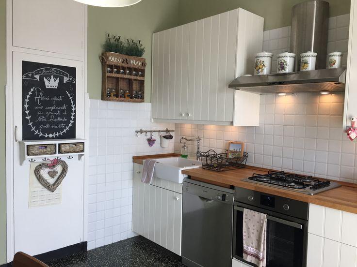 Una cucina pratica e accogliente grazie ad Ikea, maison du monde e riviera maison
