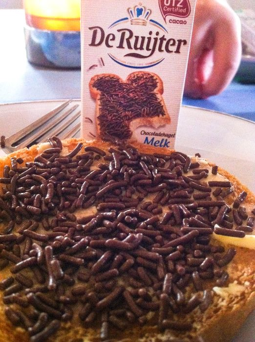 Hagelslag (Chocolate Sprinkles). 10 Dutch Foods You Must Try In The Netherlands #Holland #food #dutch