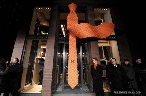 Hermes men's store-NYC  David Mezheritsky http://david-mezheritsky.tumblr.com/