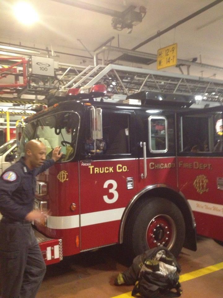 Chicago Fire Department Truck 3