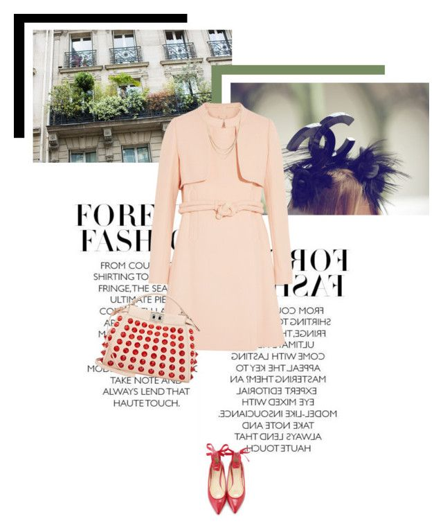 """Soft Pale Pink"" by veronicamastalli on Polyvore featuring Chloé, Fendi and Forever 21"