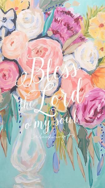 It's time for a bright new summer lock screen!  Click the link below for the high resolution file. Save, set as wallpaper, and enjoy!  Bless the Lord - Lock Scr