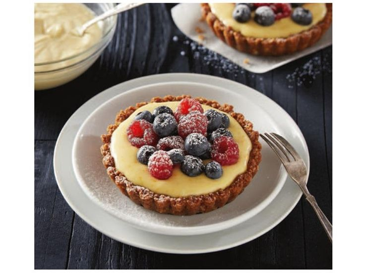 Berry And Mascarpone Tartlets