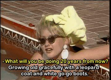 Funny Cyndi Lauper gif