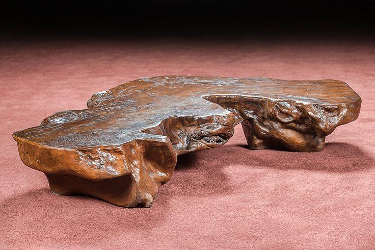 Стол журнальный из дерева франжипани (плюмерия)