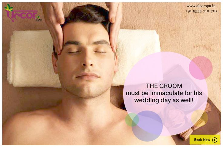 #AlcorSpa #SpaServices #GroomPackage  Prepare yourself for the important day. Get a #PreGroomPackage for the groom to be only at Alcor Spa.  Call at 9555710710 or visit our website http://alcorspa.in/book-appointment/ to book an appointment!