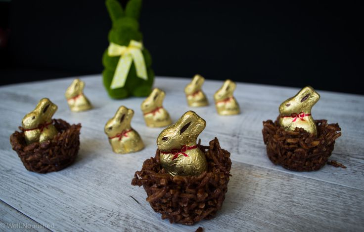 These Raw Chocolate Easter Nests are a cute, nourishing Easter treat or dessert. They are really easy to make & gluten, grain, dairy & refined sugar -free.