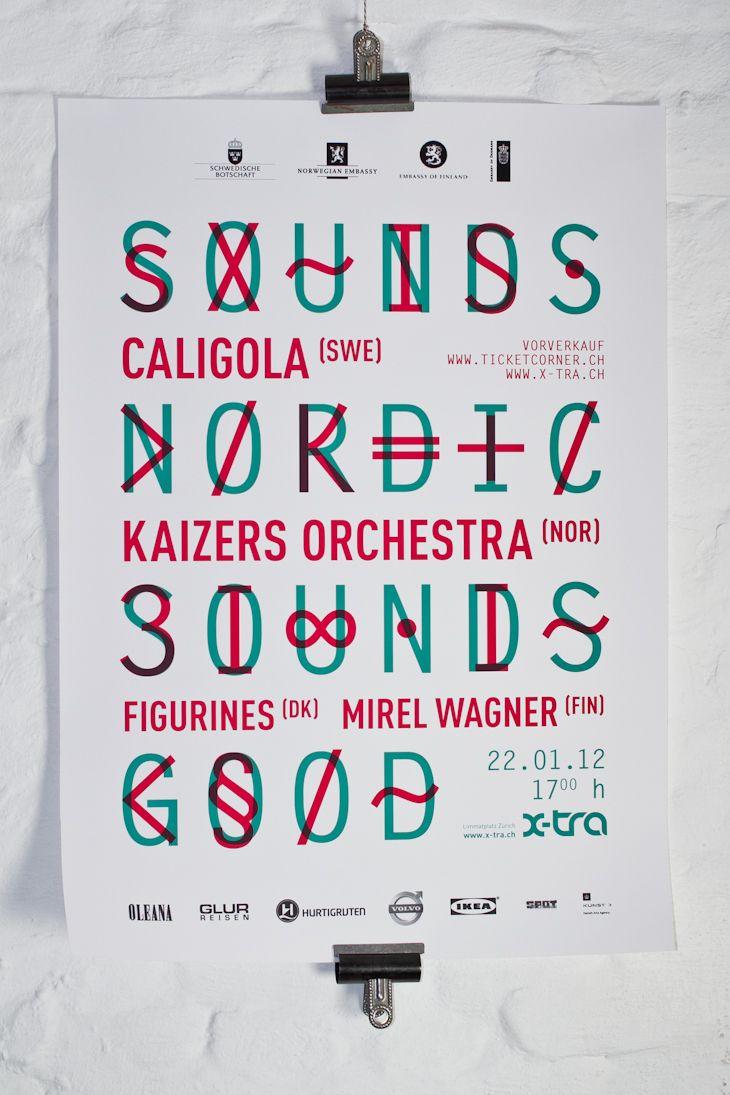 Sounds nordic sounds good / waaitt | design graphique