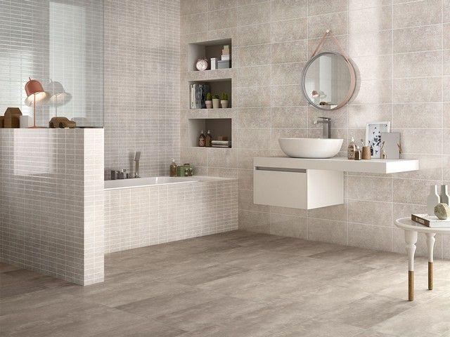 Bagno Con Mosaico Beige : Rivestimento bagno lucido kubik rivestimenti bagno bathroom