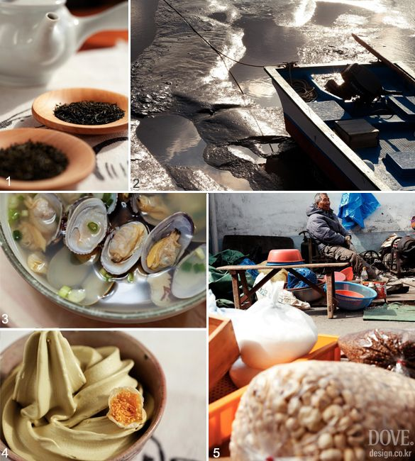 Most of all, it is located in Boseong, the cultural hometown of world famous pansori (Korean traditional vocal and percussional music performance). Local agricultural products as well as seafood caught from Deukryang Gulf are traded in the market, such as shallot, potato, kiwi, strawberry, green tea, linen, kkomak (ark shell clam) and nokdon (green tea-fed pork).