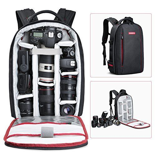 Beschoi DSLR Camera Backpack Waterproof Camera Bag for So...