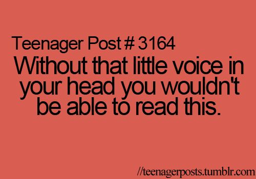 teenager post  #3164 Creepy but true... O.o