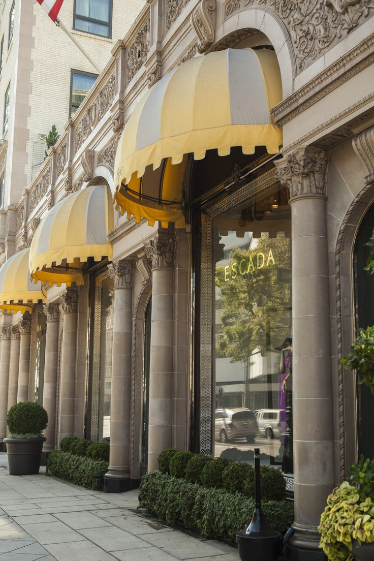 Did you know... we have 4 different awnings that we exchange with each season?