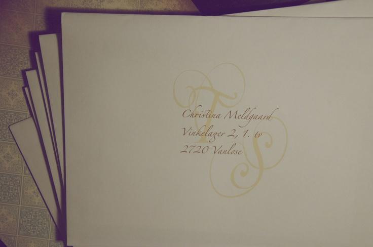 """Save the Day""-card envelopes.  #wedding"
