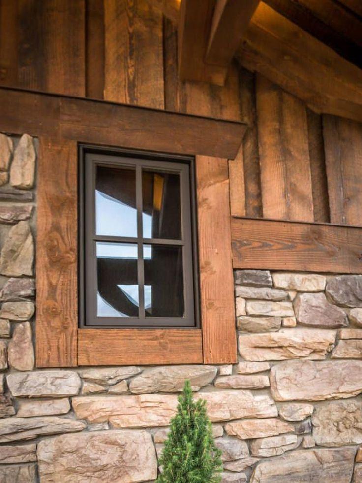 50 Modern Rustic Window Trim Inspirations Ideas