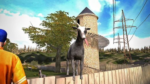 'Goat Simulator' Video Game Now Available on iOS