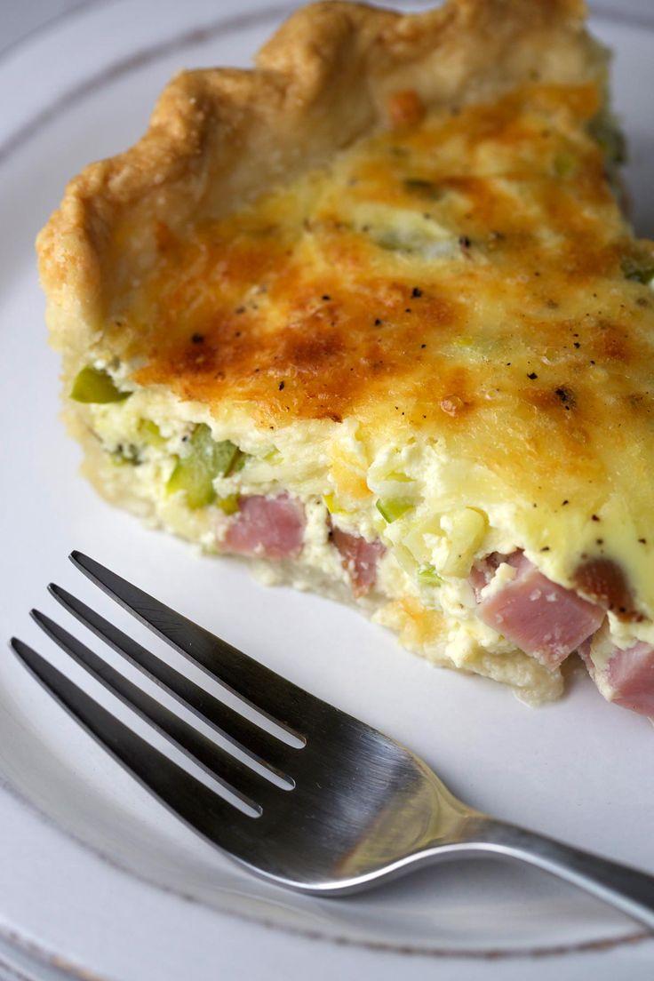 ... on Pinterest | Crustless quiche lorraine, Cowboy quiche and Asparagus