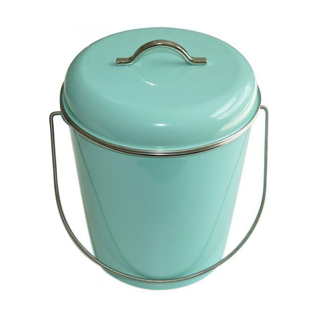 Les 25 meilleures id es concernant salles de bains verte for Poubelle de salle de bain bleu