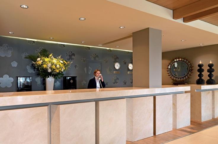 Reception of the Hotel  http://divanimeteorahotel.com/