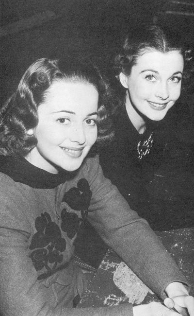 Vivien Leigh & Olivia de Havilland - Gone With the Wind.....Uploaded By…