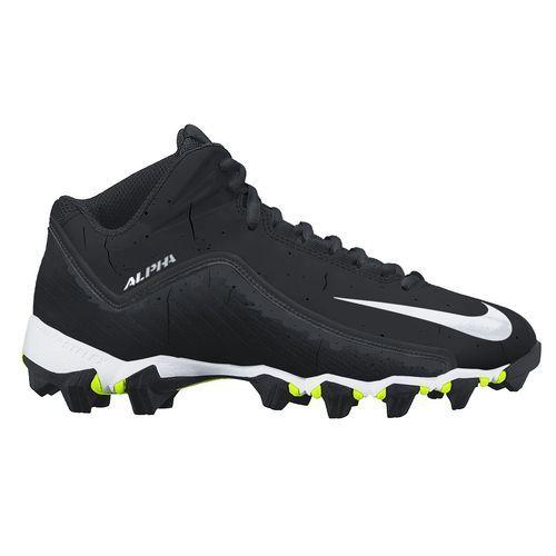 Nike Boys' Alpha Shark 2 3/4 Wide Football Cleats
