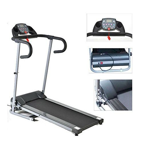 500W Portable Folding Electric Motorized Treadmill Running Fitness Machine Black