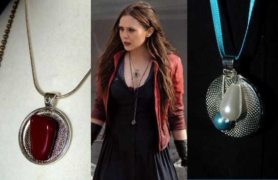 Wanda Maximoff/Scarlet Witch Cosplay Necklace Avengers Age of Ultron Costume Jewellary
