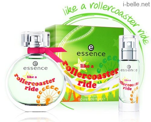 New fragrance: Essence Like a Rollercoaster Ride