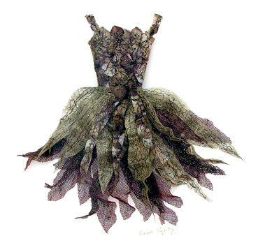 Teresa Poyntz    Hydrangea Fairy Flower Dress
