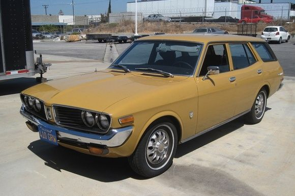 1973 Toyota Corona Mk II Station Wagon For Sale Front