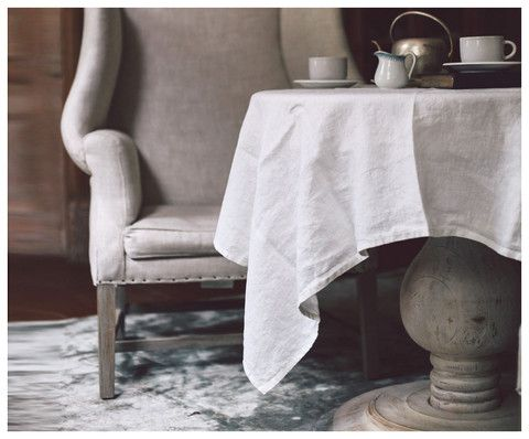 Bohemian Off White Tablecloth