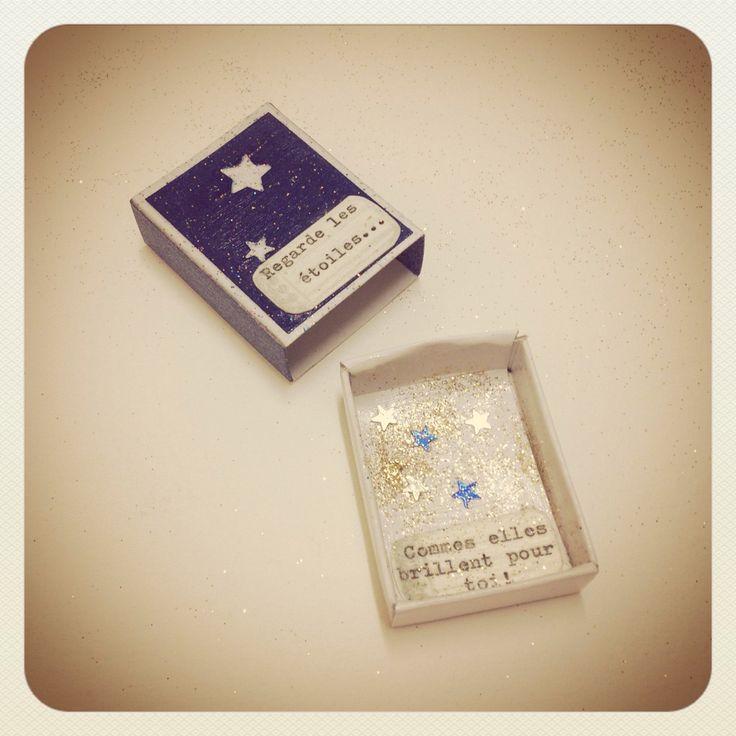 La boîte pour se rappeler de regarder les étoiles