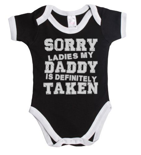 Sorry ladies my daddy is definitely taken funny baby boy/girl babygrow vest Buzz Shirts,http://www.amazon.com/dp/B00IEAQPGQ/ref=cm_sw_r_pi_dp_iW8Ctb03Z323HAEA