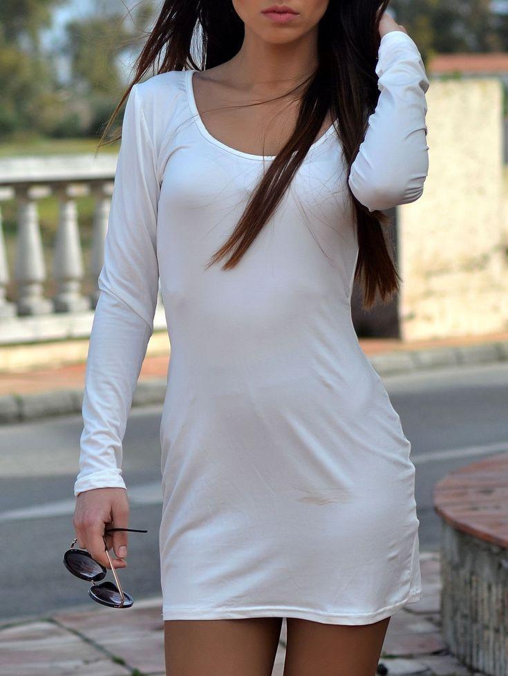 As u ish white dress old