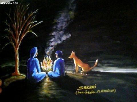 L'artiste SAKHRI - la chaleur