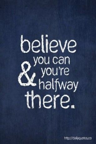 Everything in the world starts with believing in yourself. Your choices make your destiny. Believe in your instincts.